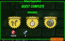 FoS Science Cooperative! rewards D