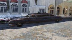 Limousine side view