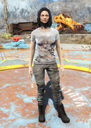 Nuka-World t-shirt female
