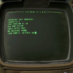Pip-Boy starting up