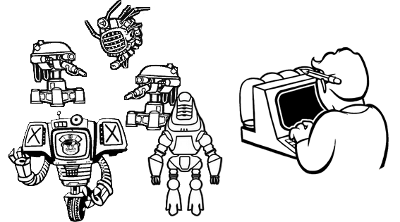 Robot and computer icon.png