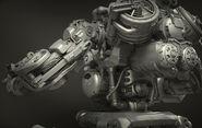 Sentry Bot Inner Detail Render Rear 3Quarter View