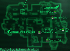 Vault-Tec HQ Sysop terminals