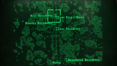 West residence loc map
