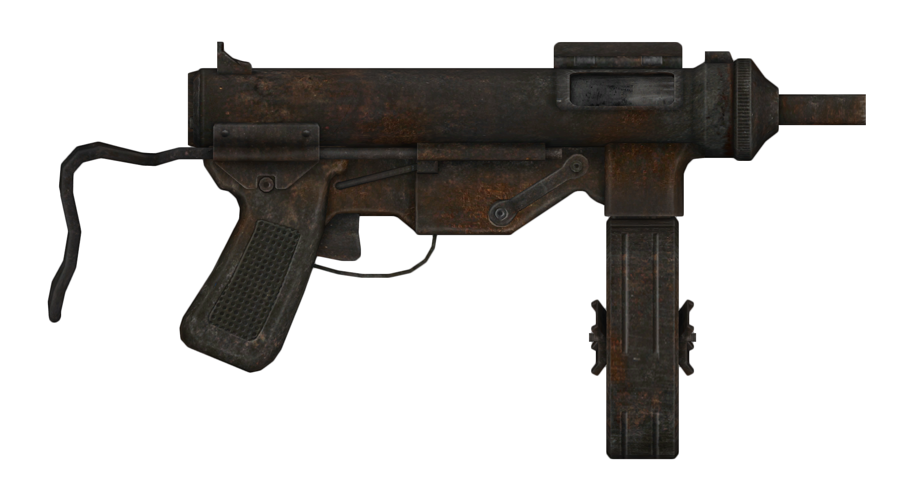 9mm SMG with drum modification