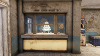 FO76 Sunnytop station (Vendor bot Raider)