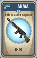 FOS Rifle de asalto mejorado carta