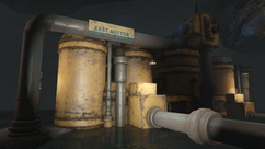 Vault-Tec water pump