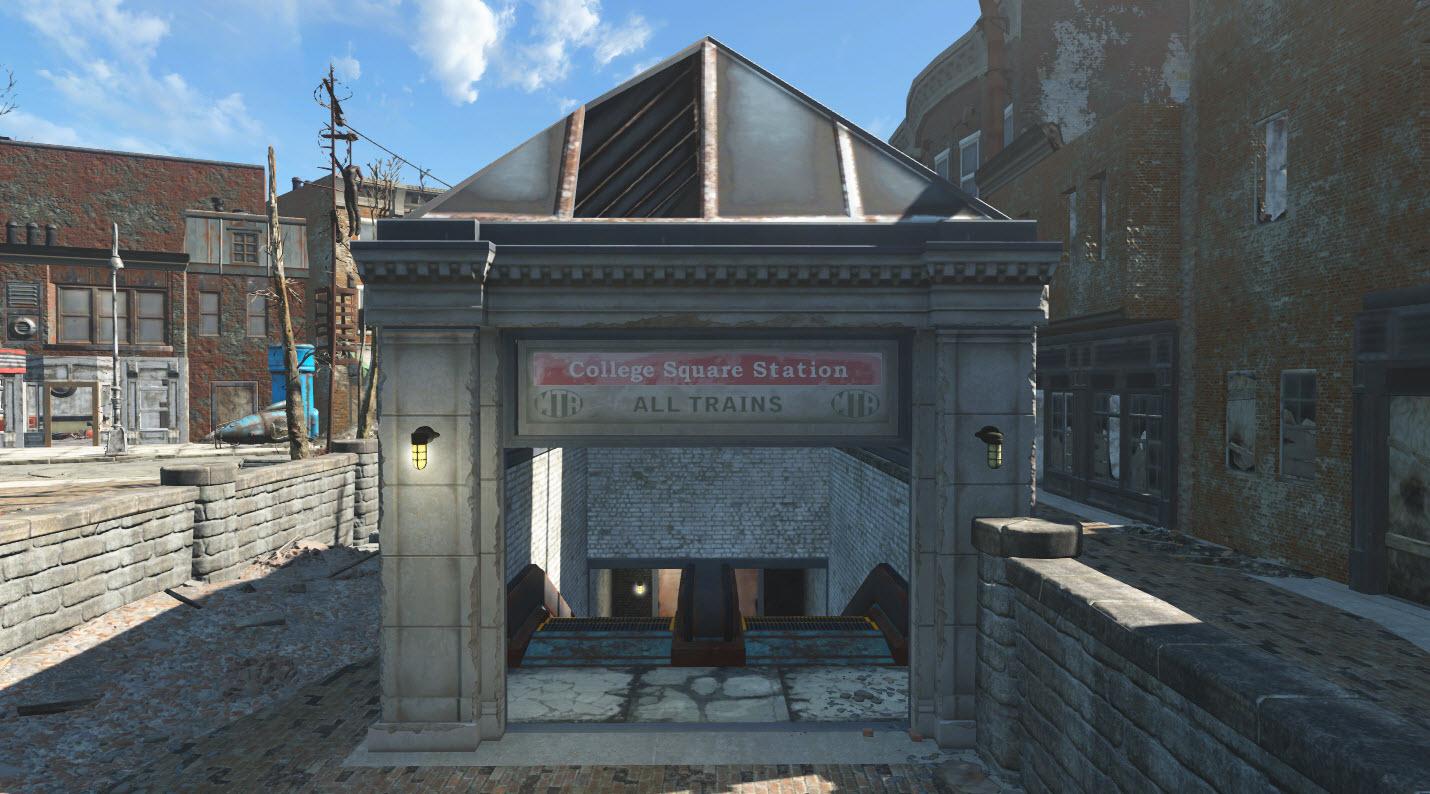 CollegeSquareStation-Exterior-Fallout4
