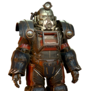 FO76 Garrahan extractor power armor paint