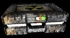 Lead lined metal box