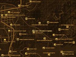FNV Карта ОФИС ГИПСОВОГО РУДНИКА