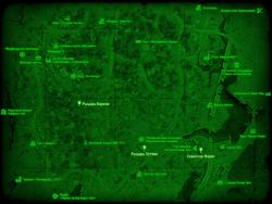 FO4 Пропавший патруль (карта мира)