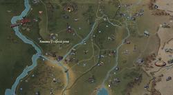 FO76 «Хижины у горной реки» (карта мира)