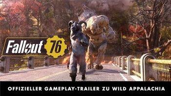 Fallout 76 – Wild Appalachia Offizieller Gameplay-Trailer