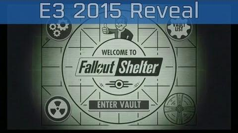 Fallout Shelter - E3 2015 Reveal Trailer HD 60FPS