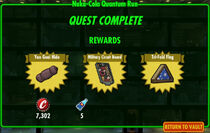 FoS Nuka-Cola Quantum Run rewards