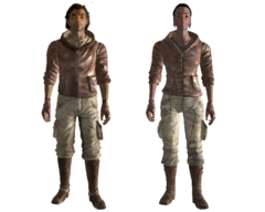 Wasteland wanderer outfit