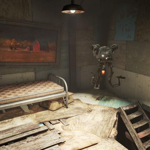 Спальня Мірни