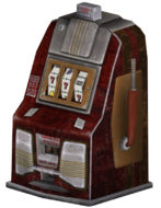 FNV red slotmachine