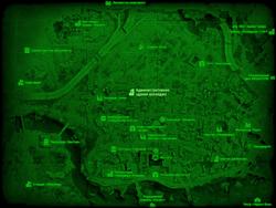 FO4 Административное здание колледжа (карта мира)