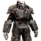 FO76 Blackbird power armor paint