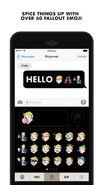 Fallout Chat emojis