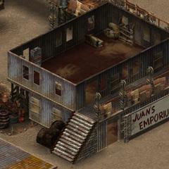 Магазин «Juan's Emporium», другий поверх
