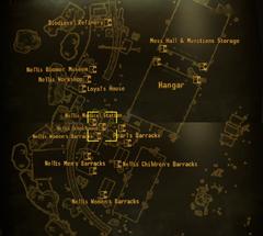 Nellis schoolhouse map