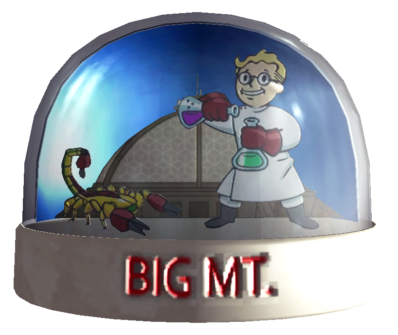 Snow globe Big MT