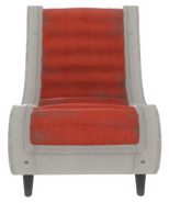 FO4VW Clean red chair