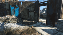 FO4 SBoston High monument entrance