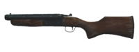 FO4 SO double-barrel shotgun