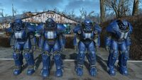 Fallout 4 hot rod racing stripes power armor