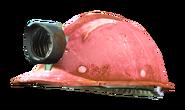 Fo4 mining helmet pink green