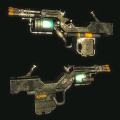 K9000 cyberdog gun concept art