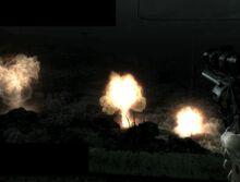 Space nuke attack