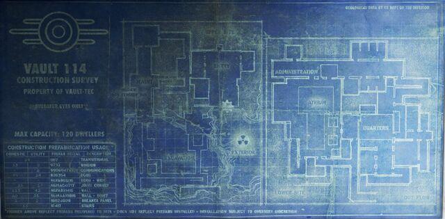 Image vault 114 blueprintsg fallout wiki fandom powered by filevault 114 blueprintsg malvernweather Gallery