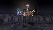 FNV Fabulous New Vegas sign at night
