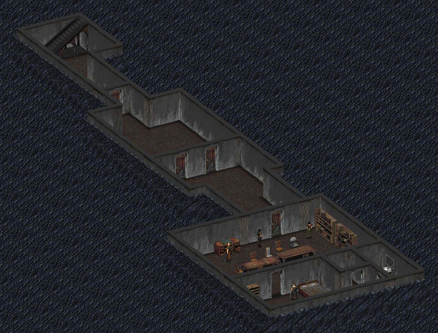 FO1 Thieves' Guild map