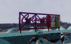 FO3PL Colontoni's Pizzeria sign