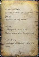 FO4 Eddie Winter Case Notes Page 1