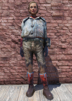 FO76 Tattered Mole Outfit
