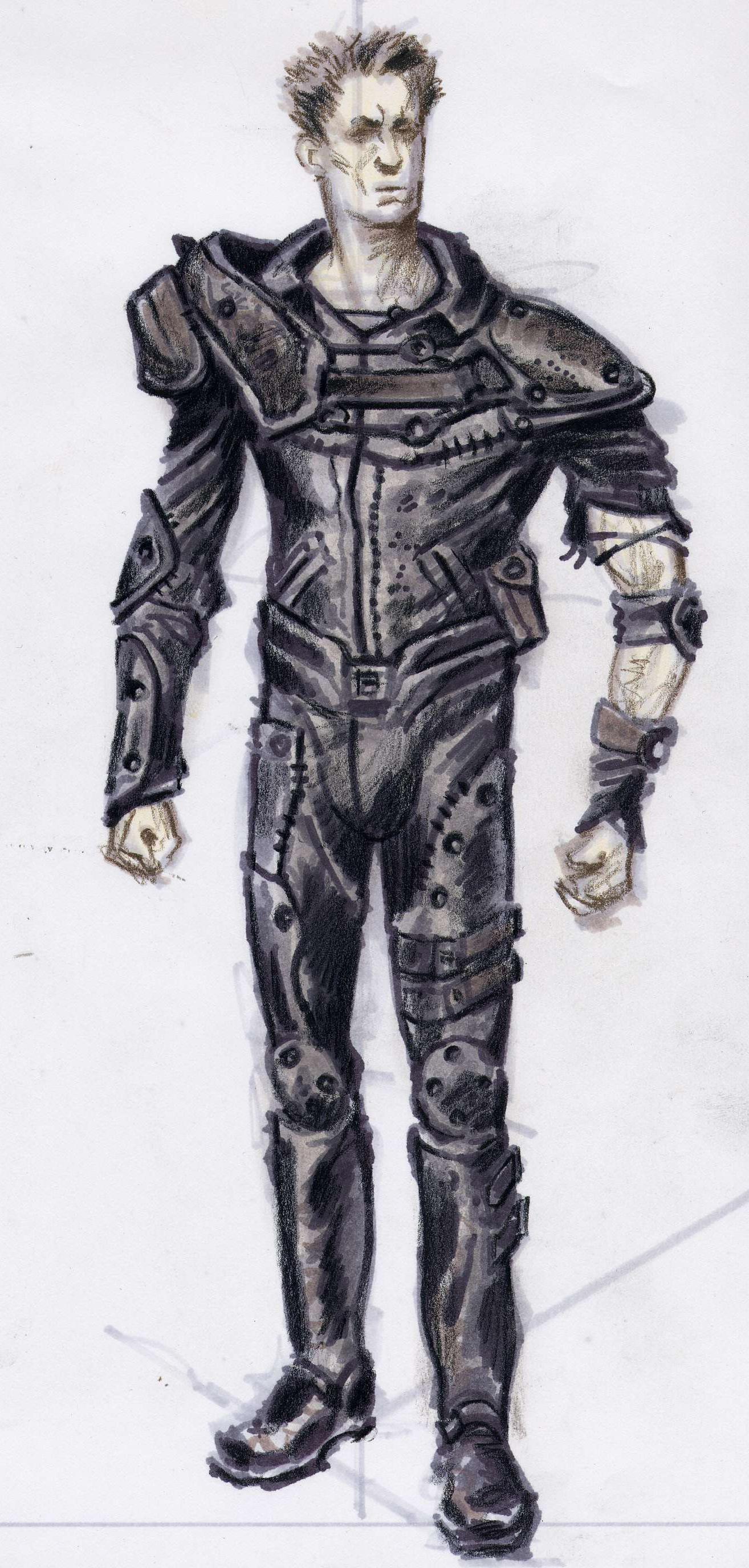 Leather armor CA2