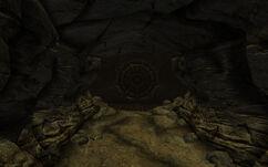 Vault 74 door