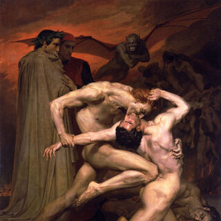 Данте і Вергілій у пеклі