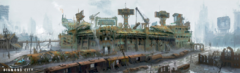 Diamond City panorama