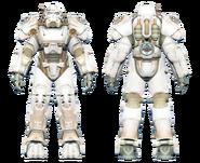 FO4CC T-60 power armor white