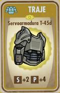 FOS Servoarmadura T-45d carta