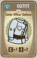 FoS Junior Officer Uniform Card